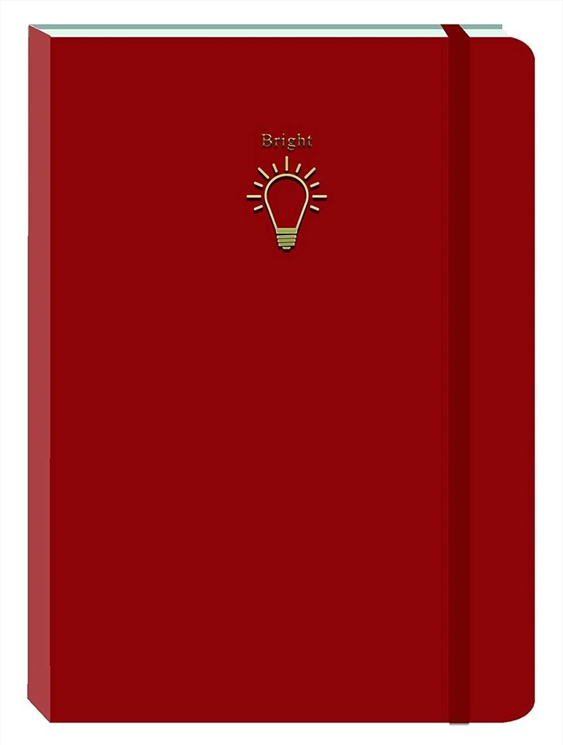 Bright Spark - red Motif Journal | Merchandise