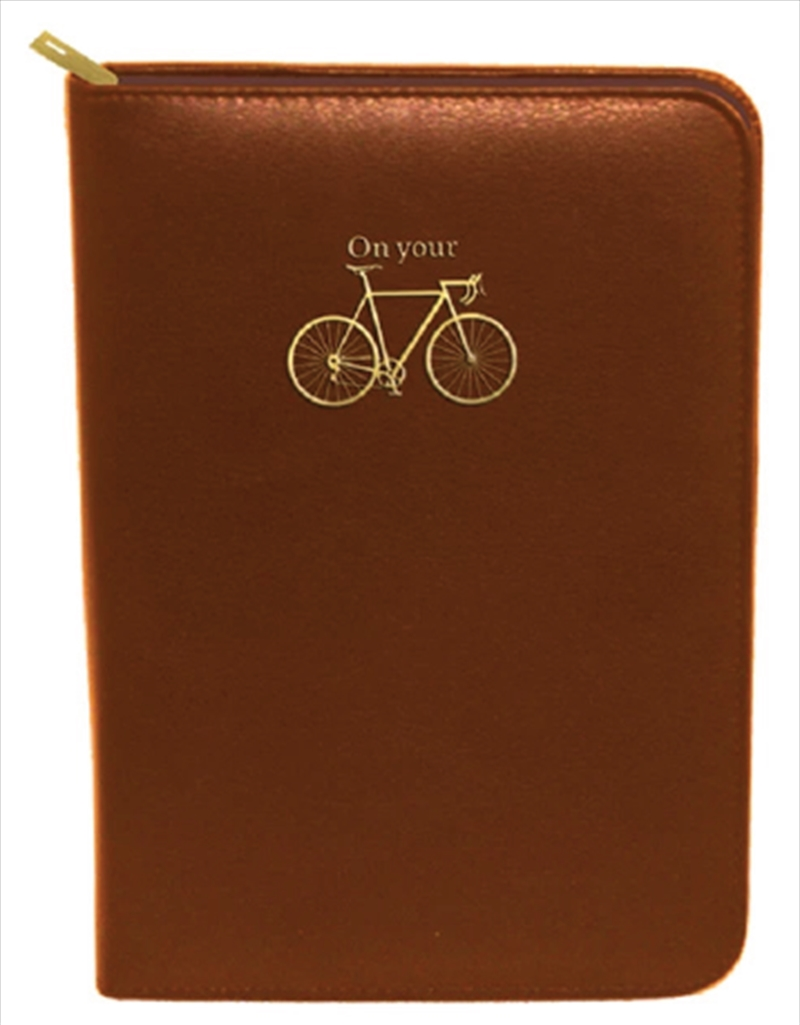 Brown Bike Zip | Merchandise