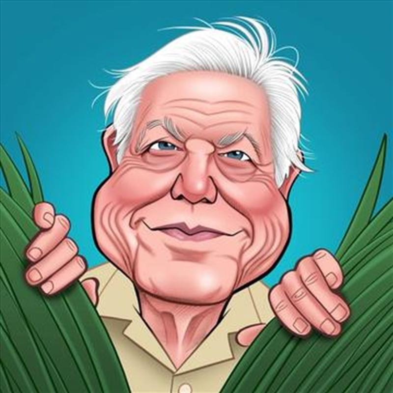 David Attenborough Greeting Sound Card | Merchandise