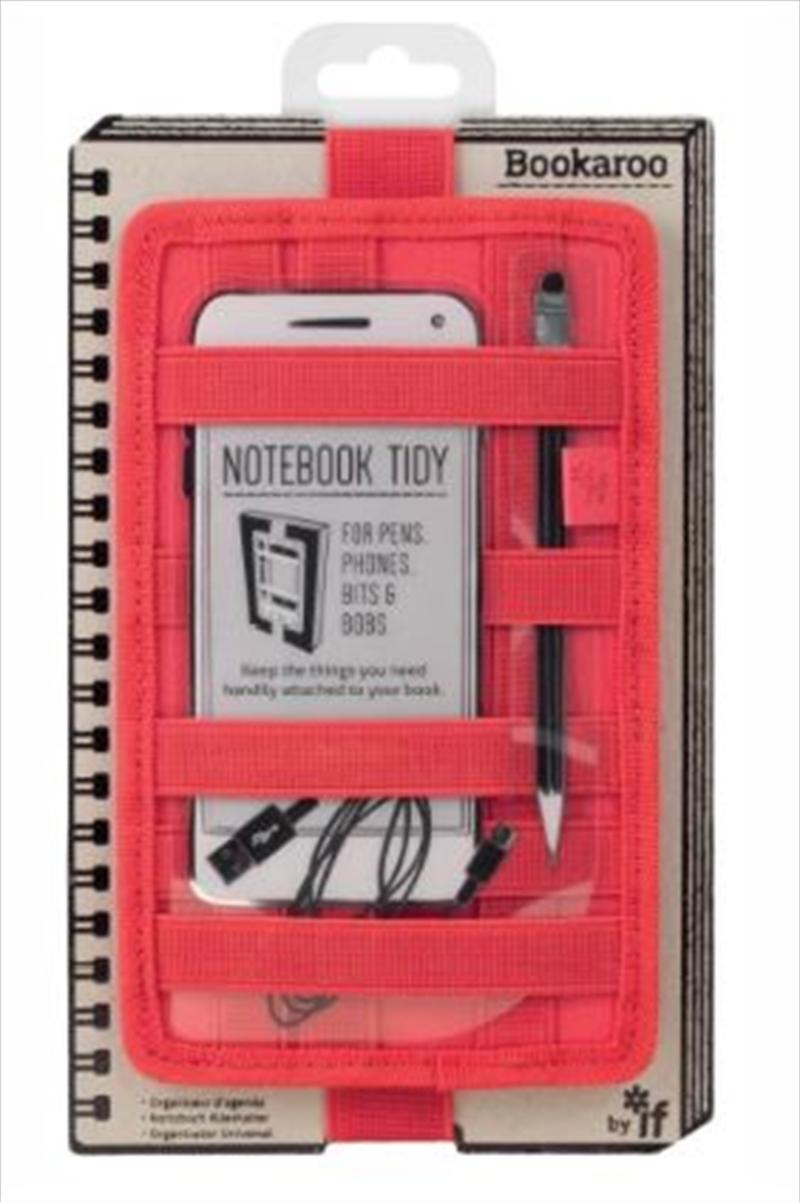 Notebook Tidy Red | Merchandise