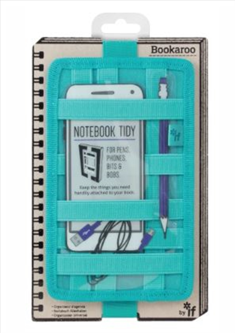 Notebook Tidy Turquoise | Merchandise