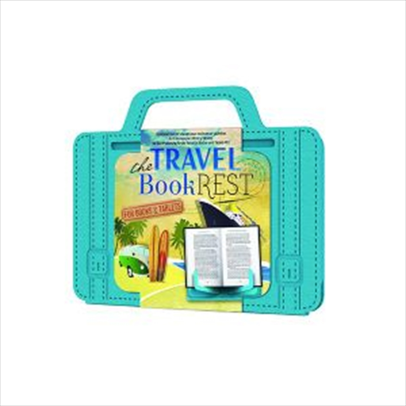 Travel Reading Book Rest - Blue | Merchandise