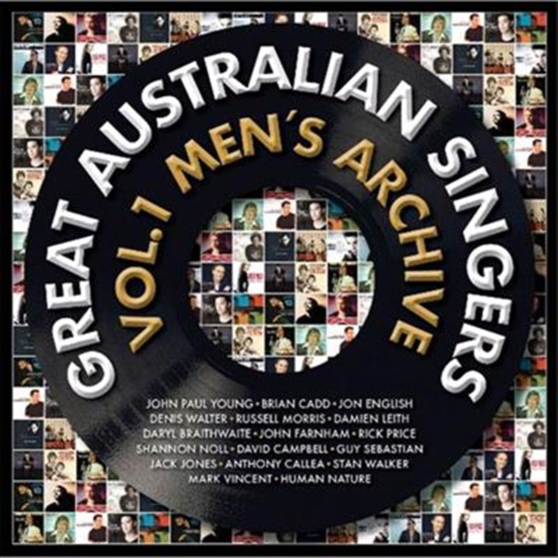 Great Australian Singers Vol 1 - Men's Archive | CD
