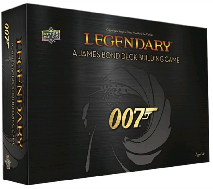 Legendary - 007 James Bond Deck-Building-Game   Merchandise
