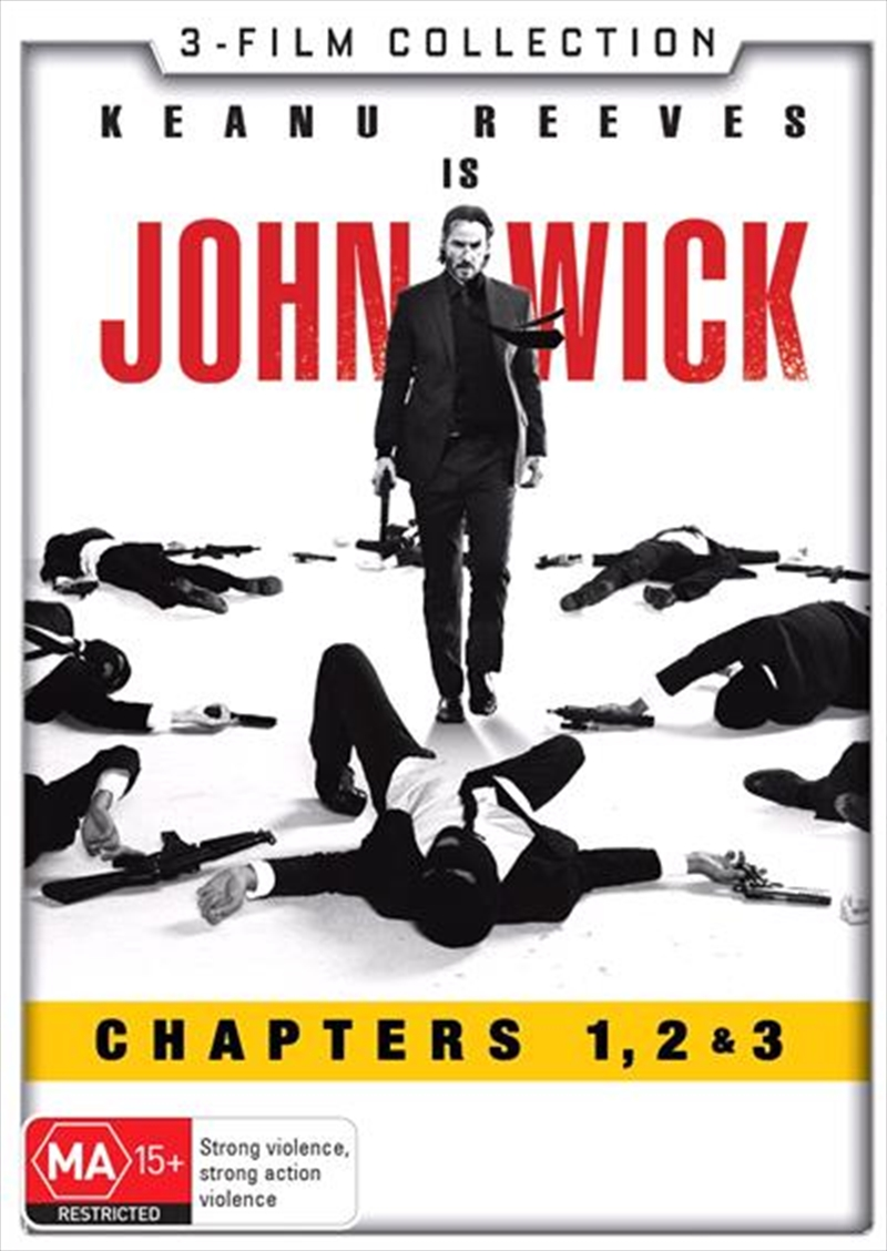 John Wick / John Wick - Chapter 2 / John Wick - Chapter 3 - Parabellum | DVD