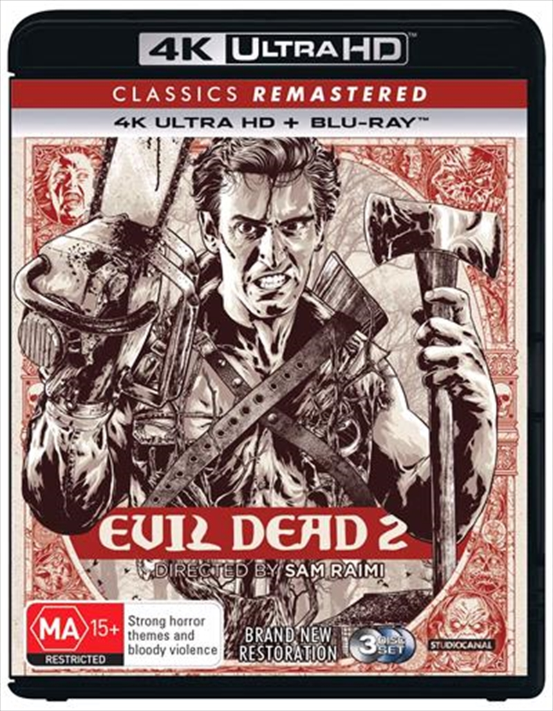 Evil Dead II - Dead By Dawn - Remastered | UHD