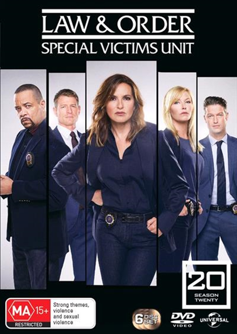 Law And Order - Special Victims Unit - Season 20 | DVD