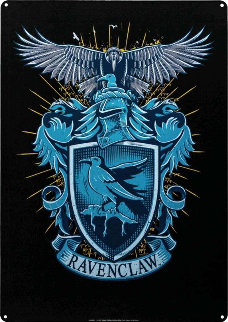 Harry Potter - Ravenclaw A3 Tin Sign | Merchandise