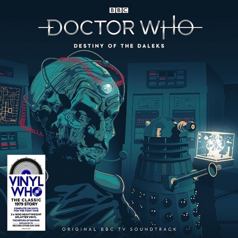 Doctor Who - Destiny of the Daleks | Vinyl