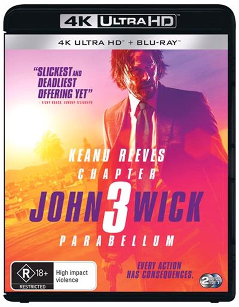 John Wick - Chapter 3 - Parabellum   UHD