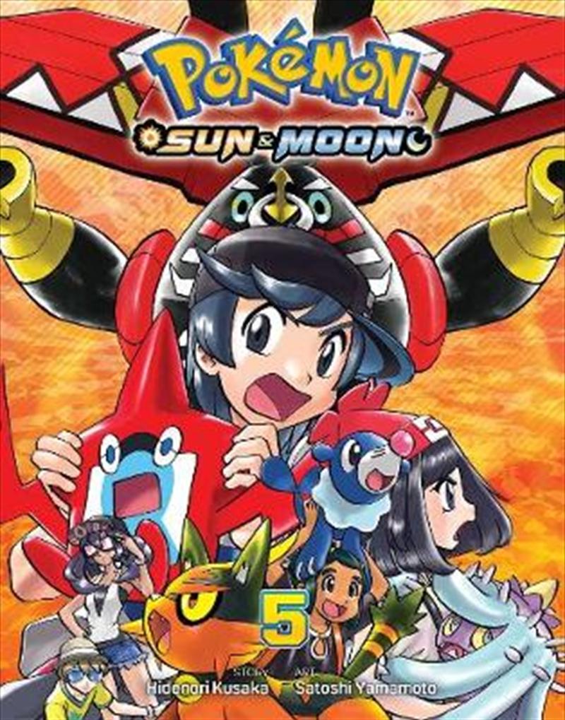 Pokemon - Sun And Moon Vol 5 | Paperback Book