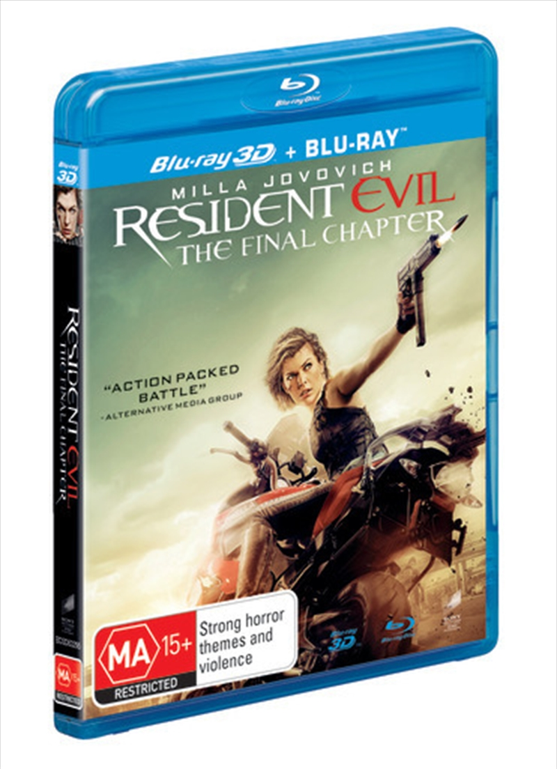 Resident Evil - The Final Chapter | Blu-ray 3D
