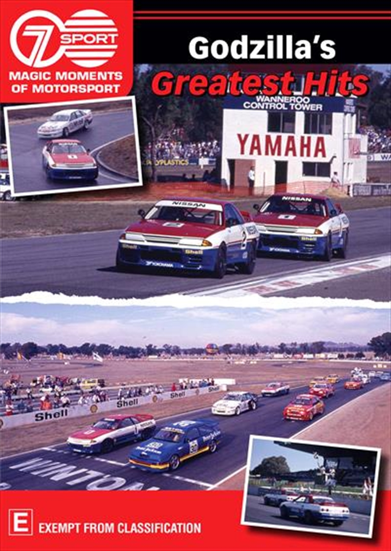 Magic Moments Of Motorsport - Godzilla's Greatest Hits | DVD
