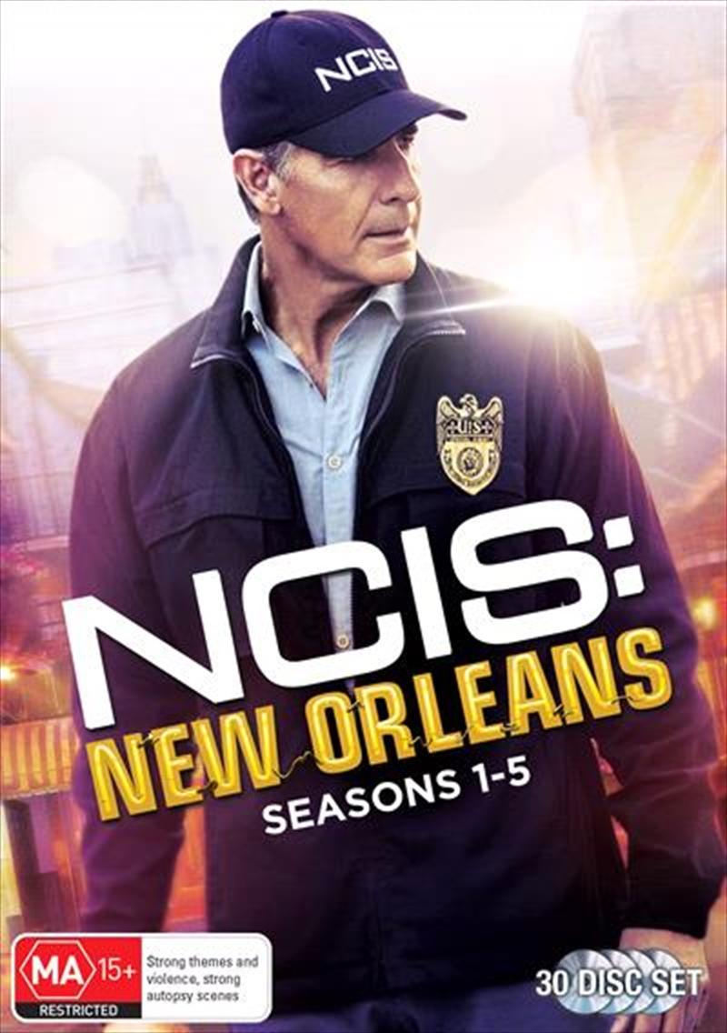 NCIS - New Orleans - Season 1-5 | Boxset | DVD