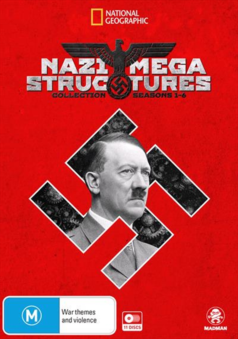National Geographic - Nazi Megastructures - Season 1-6 Collection   DVD