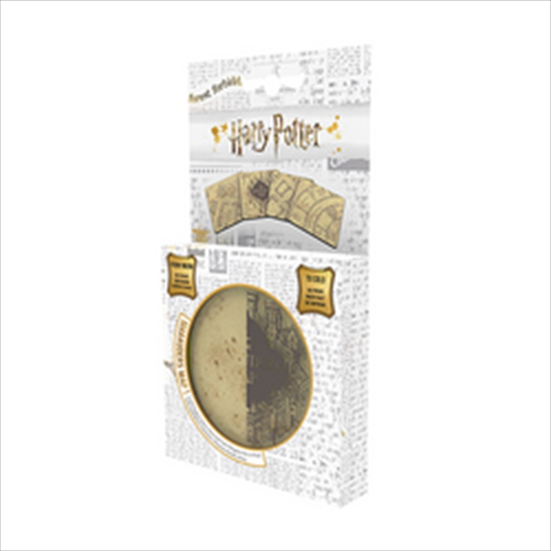 Harry Potter Marauders Map Cold Reveal Coaster Pk4 | Merchandise
