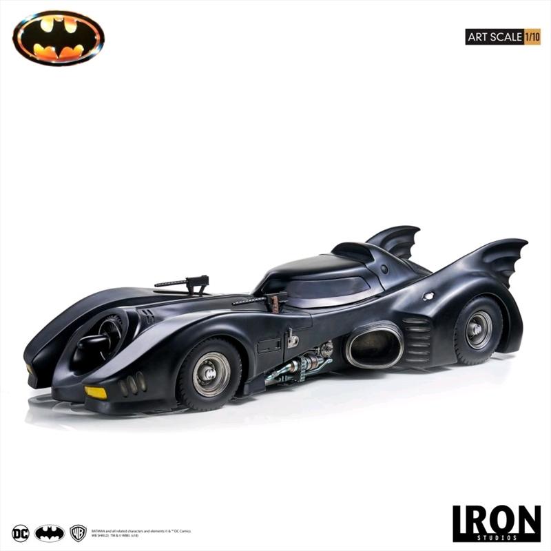 Batman 1989 - Batmobile 1:10 Scale Statue | Merchandise