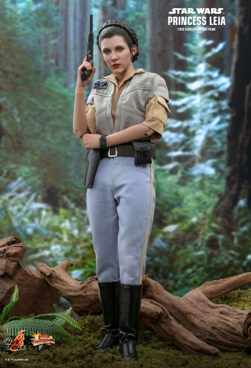 Star Wars - Princess Leia Return of the Jedi 1:6 Scale Action Figure	 | Merchandise
