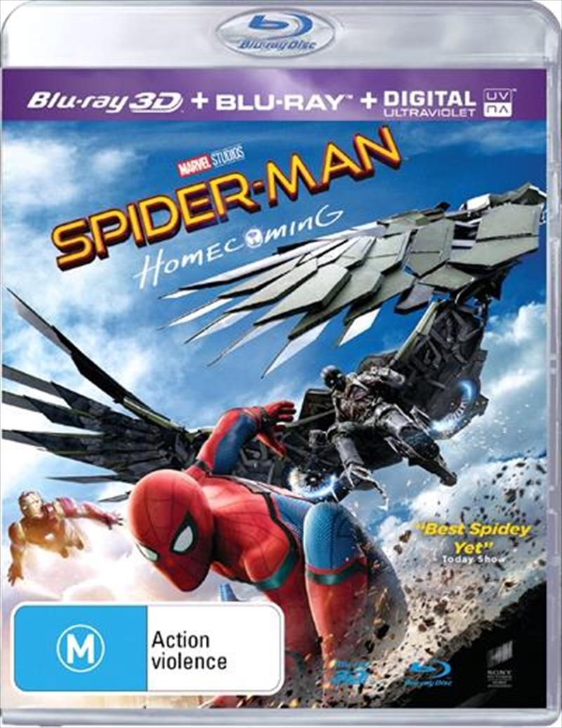 Spider-Man - Homecoming | 3D + 2D Blu-ray + UV | Blu-ray 3D