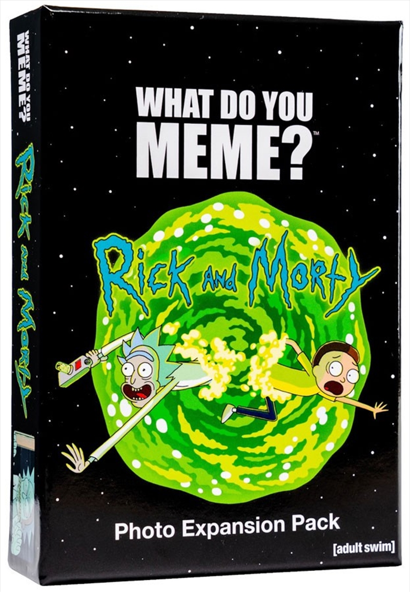Rick And Morty Expansion Pack | Merchandise