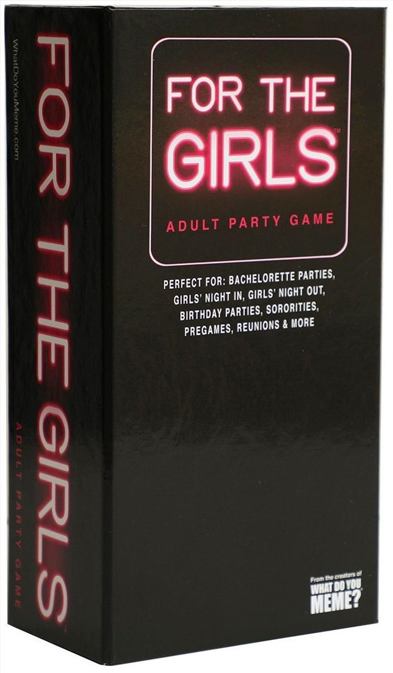 For The Girls   Merchandise