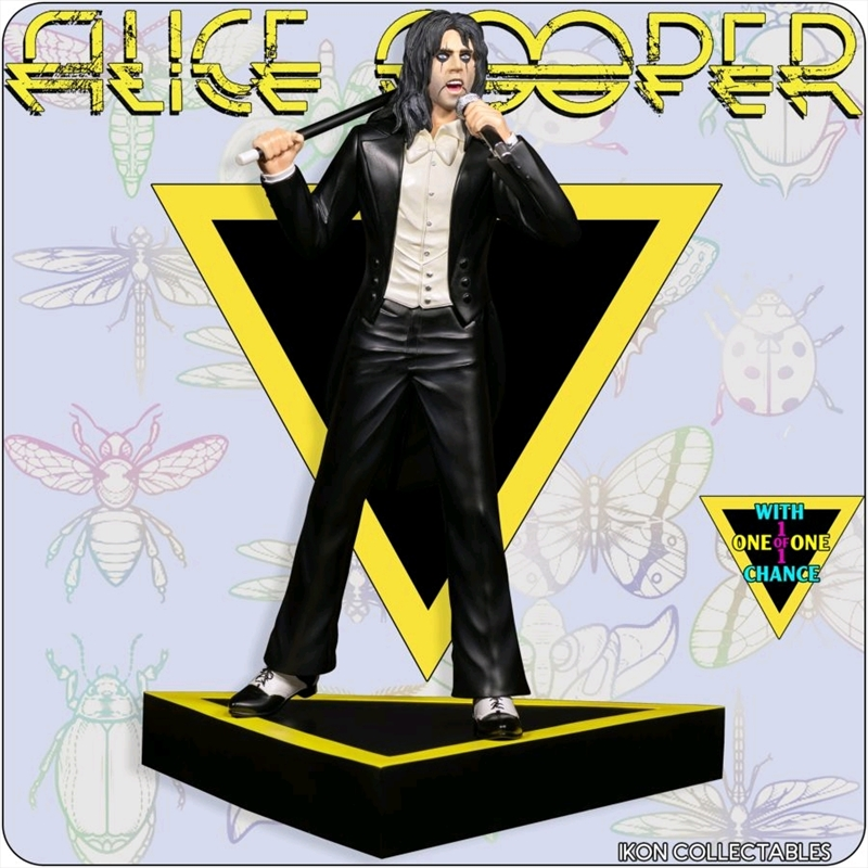 Alice Cooper - Welcome to My Nightmare (with 1-1 chase) Limited Edition Statue   Merchandise