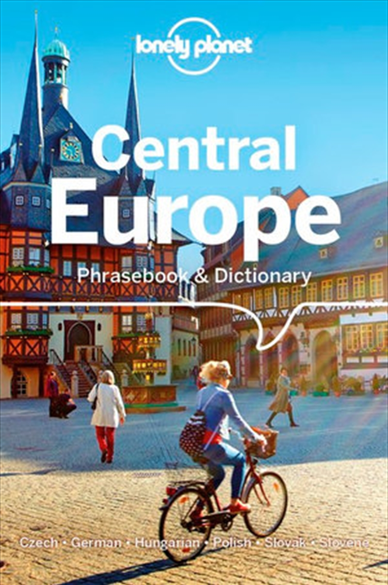 Lonely Planet Central Europe Phrasebook & Dictionary | Paperback Book