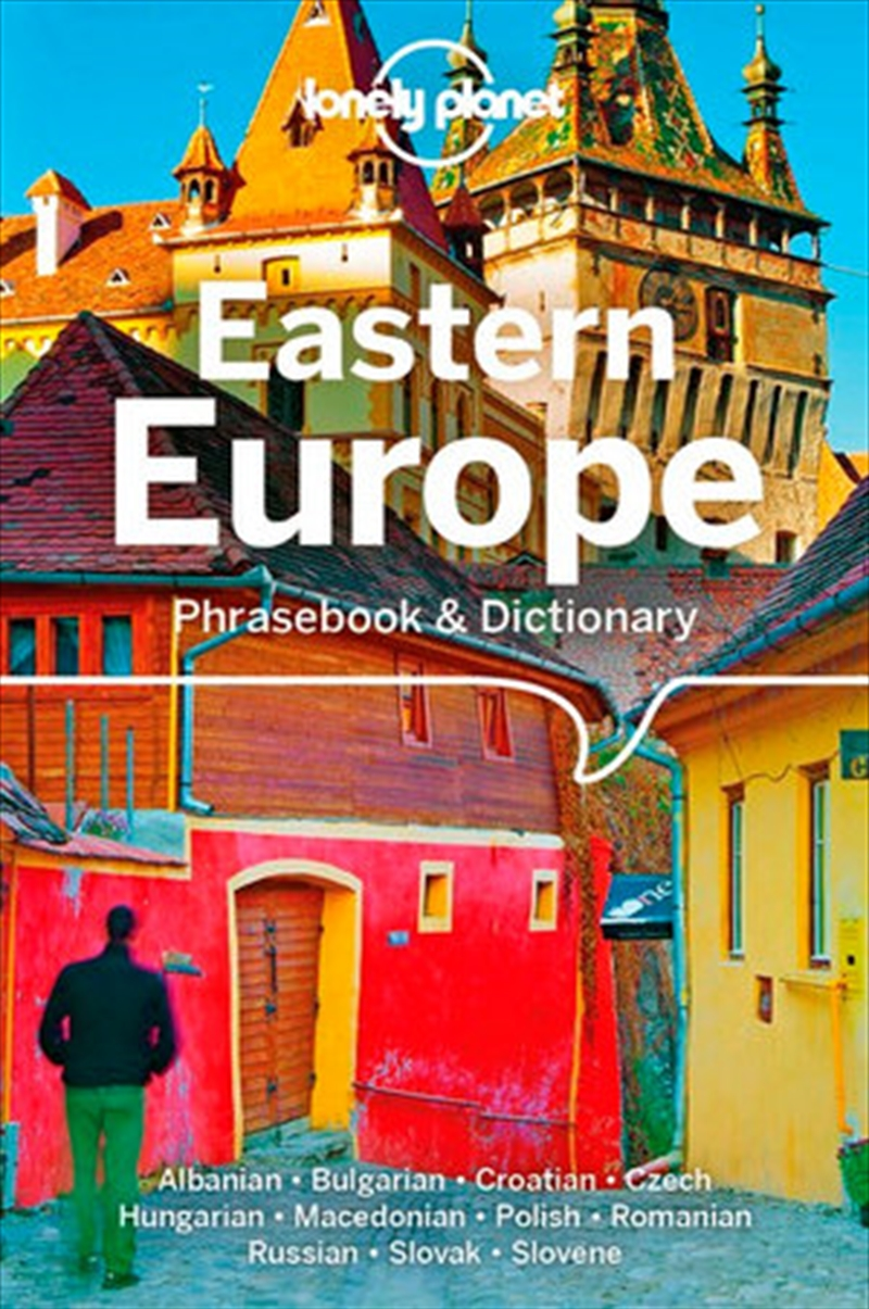 Lonely Planet Eastern Europe Phrasebook & Dictionary | Paperback Book
