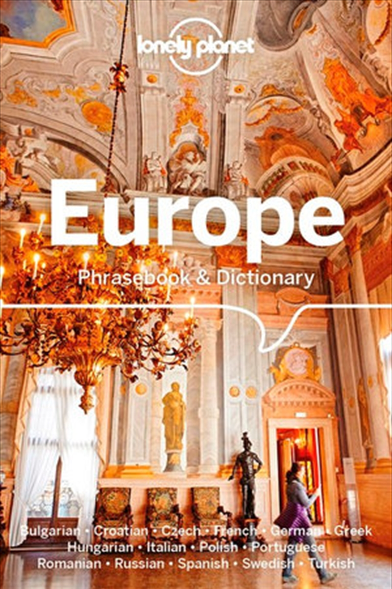 Lonely Planet Europe Phrasebook & Dictionary | Paperback Book