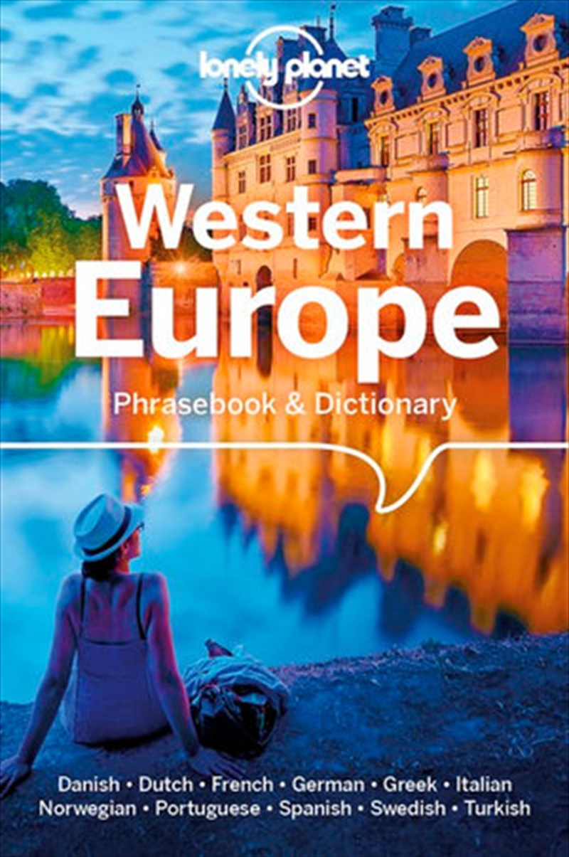 Lonely Planet Western Europe Phrasebook & Dictionary   Paperback Book