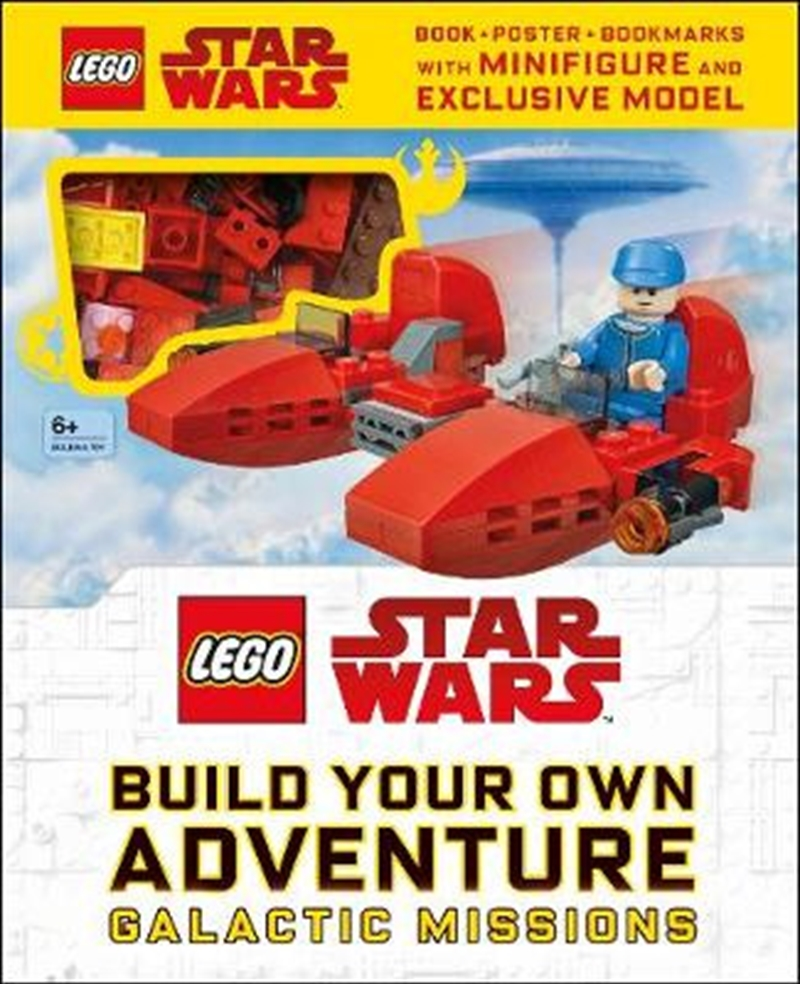LEGO® Star Wars Build Your Own Adventure Galactic Missions   Hardback Book