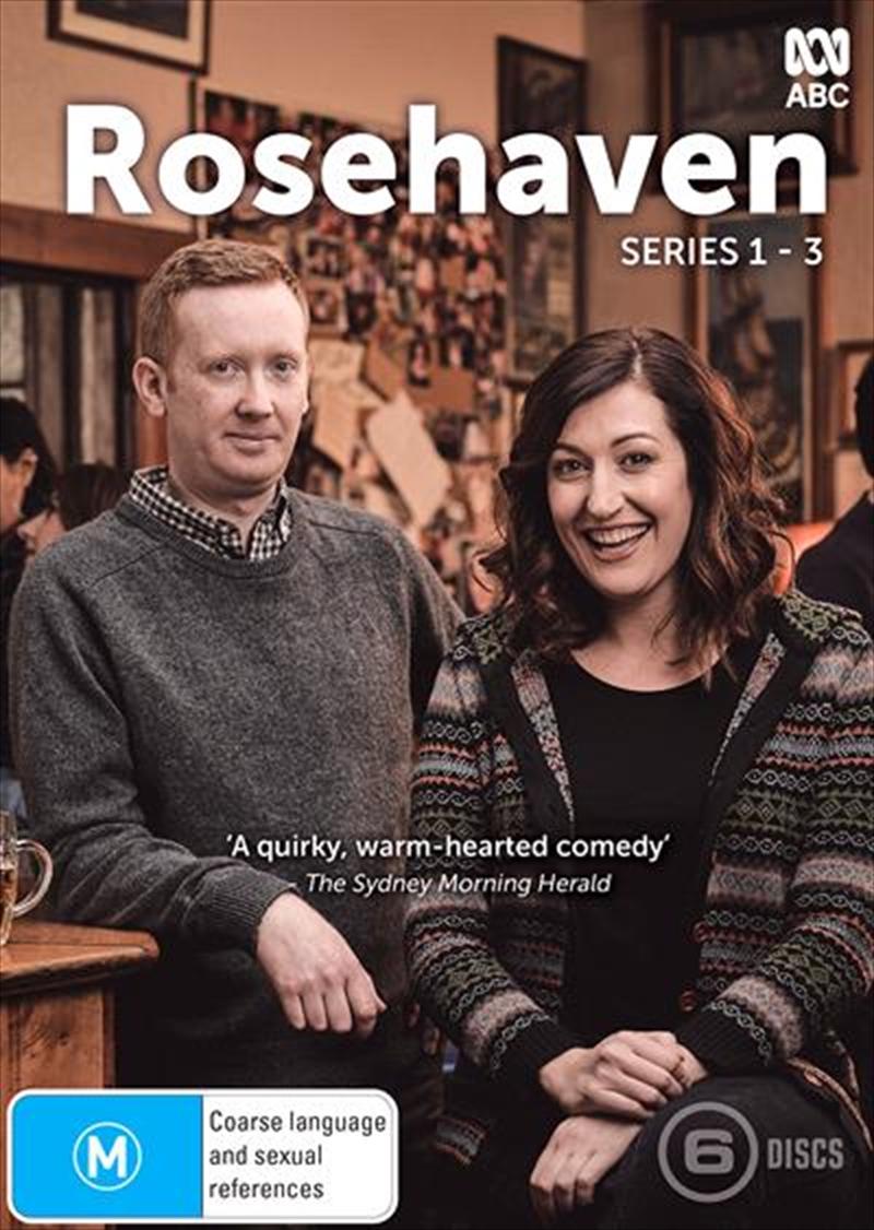 Rosehaven - Season 1-3   Boxset   DVD
