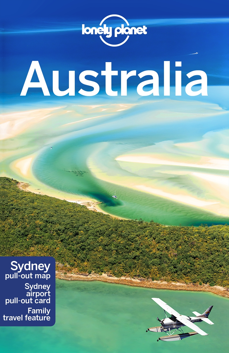 Lonely Planet Australia Travel Guide | Paperback Book