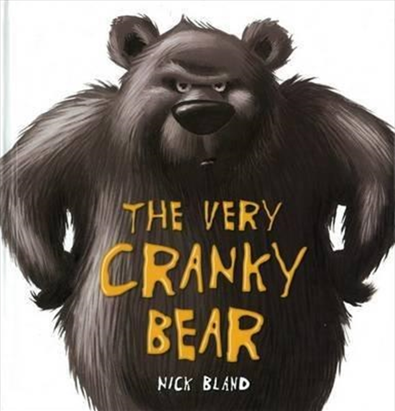 Very Cranky Bear   Paperback Book