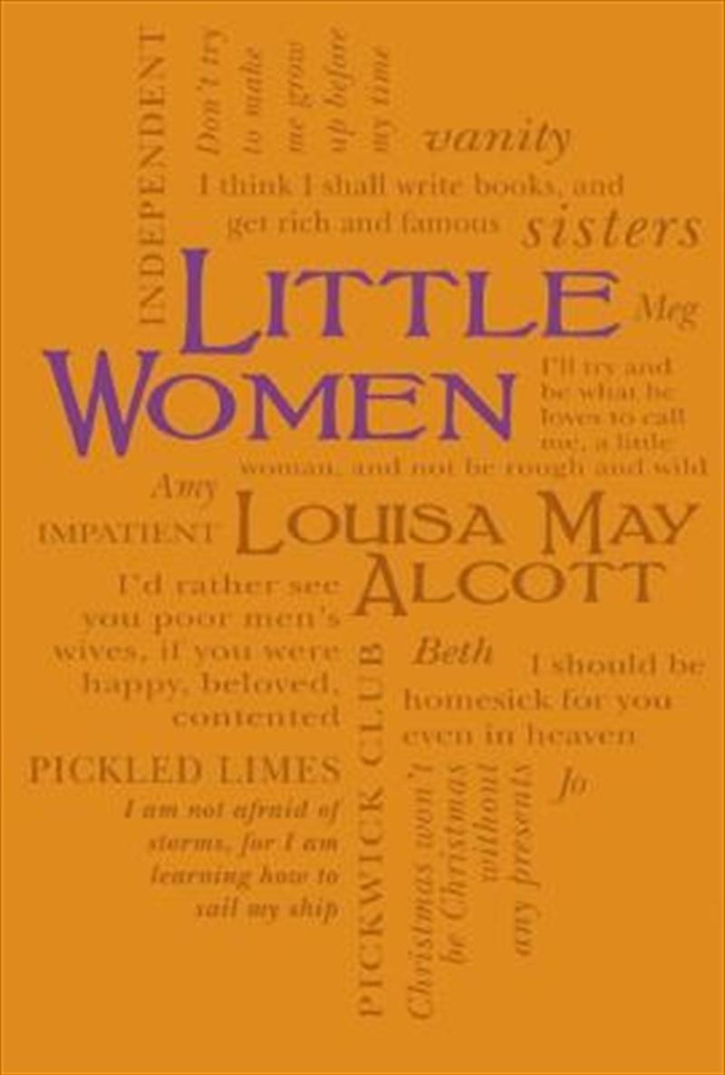 Little Women (word Cloud Classics) | Paperback Book