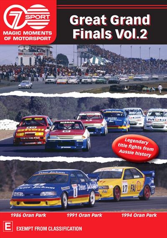 Magic Moments Of Motorsport - Great Grand Finals - Vol 2 | DVD