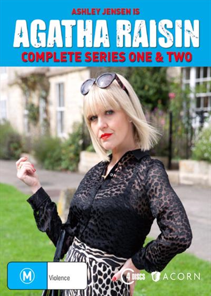 Agatha Raisin - Season 1-2 | Boxset | DVD