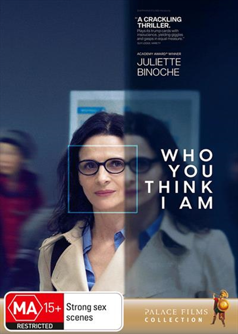 Who You Think I Am | DVD
