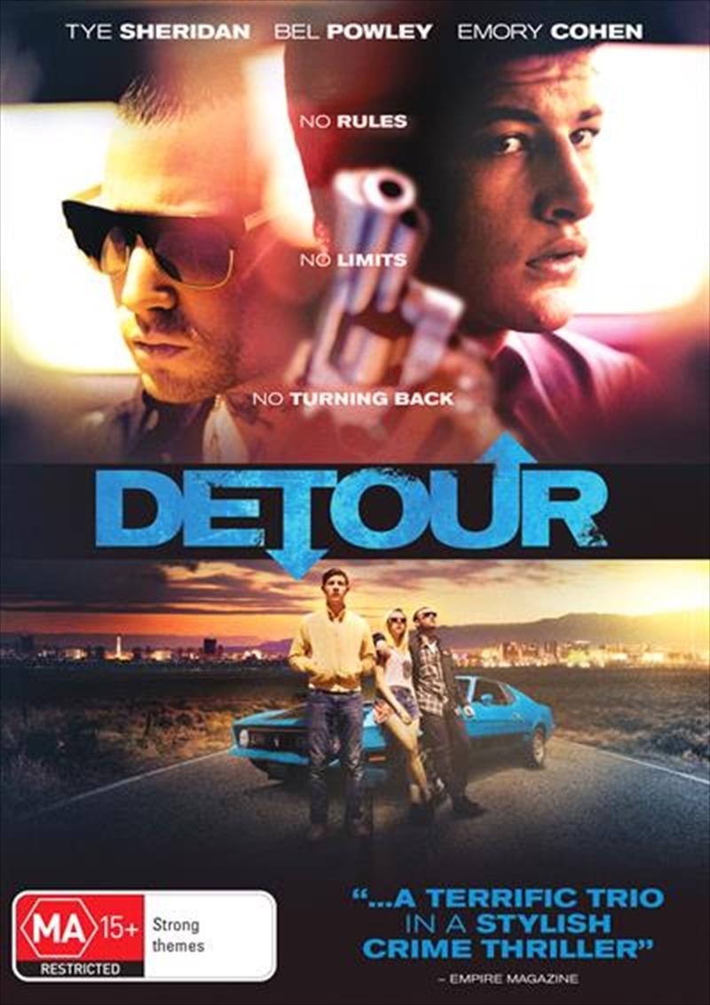Detour   DVD