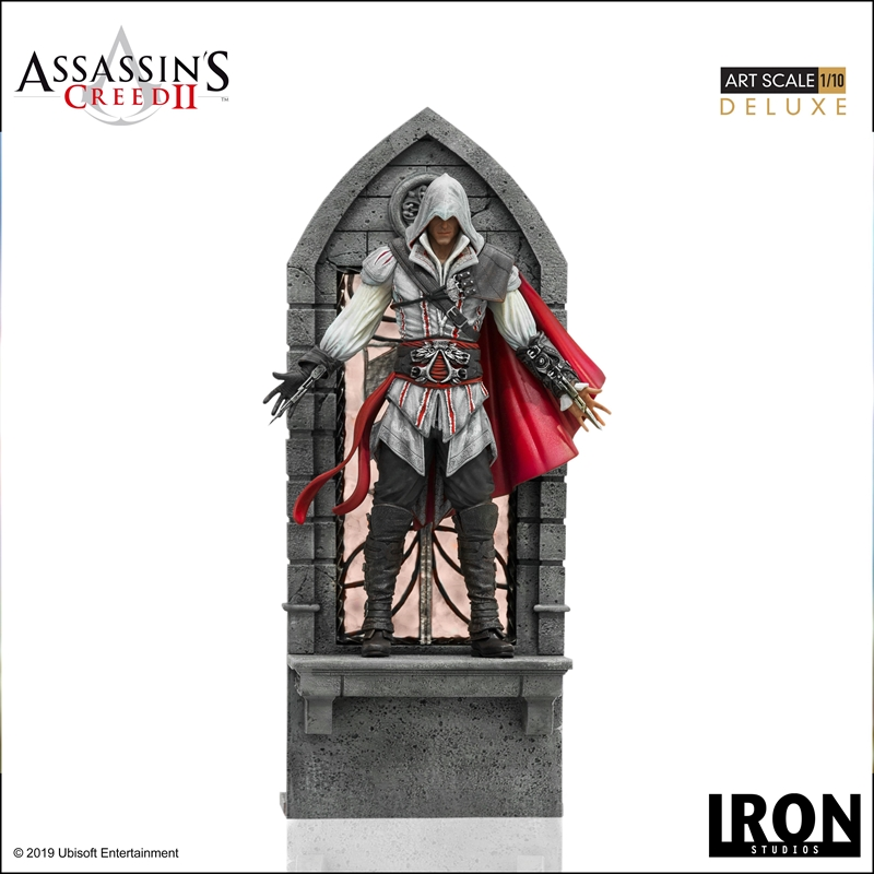 Assassin's Creed 2 - Ezio Deluxe 1:10 Statue | Merchandise