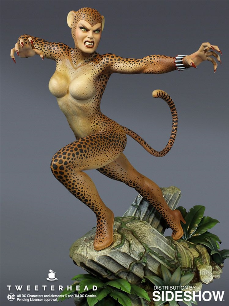 Wonder Woman - Cheetah Super Powers Maquette | Merchandise