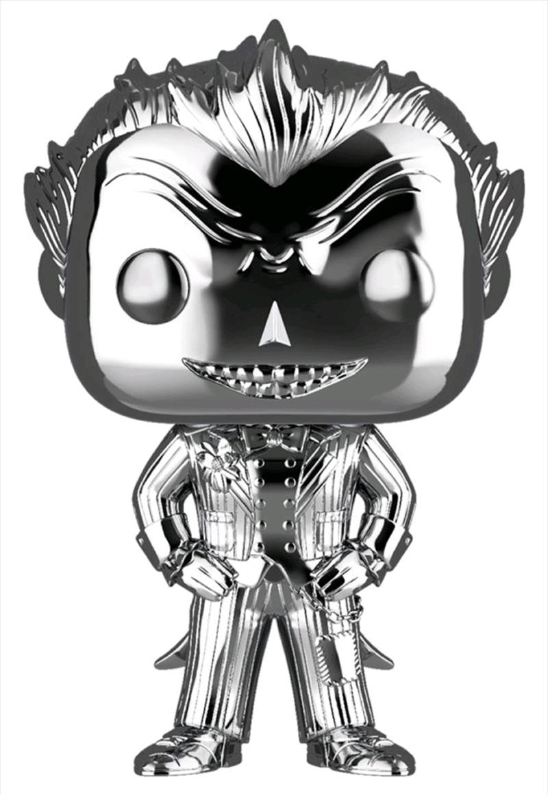 Batman - The Joker Silver Chrome US Exclusive Pop! Vinyl [RS]1   Pop Vinyl