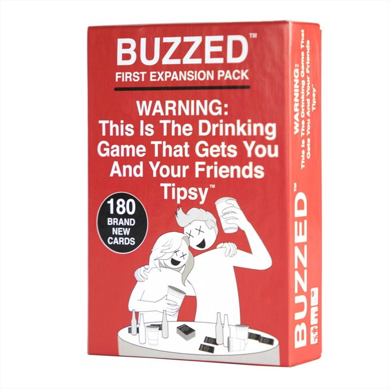 Buzzed First Expansion | Merchandise