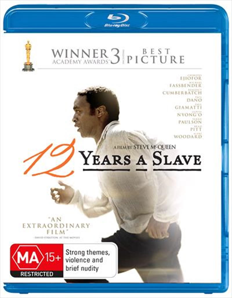 12 Years A Slave | Blu-ray
