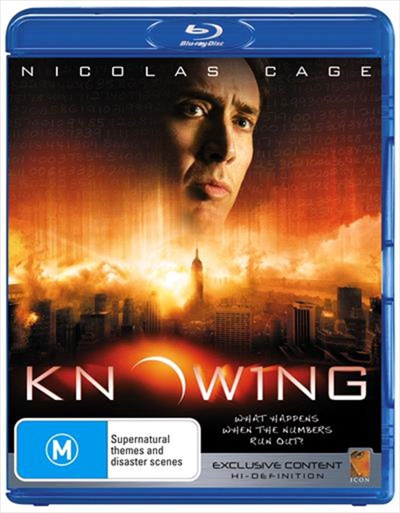 Knowing | Blu-ray