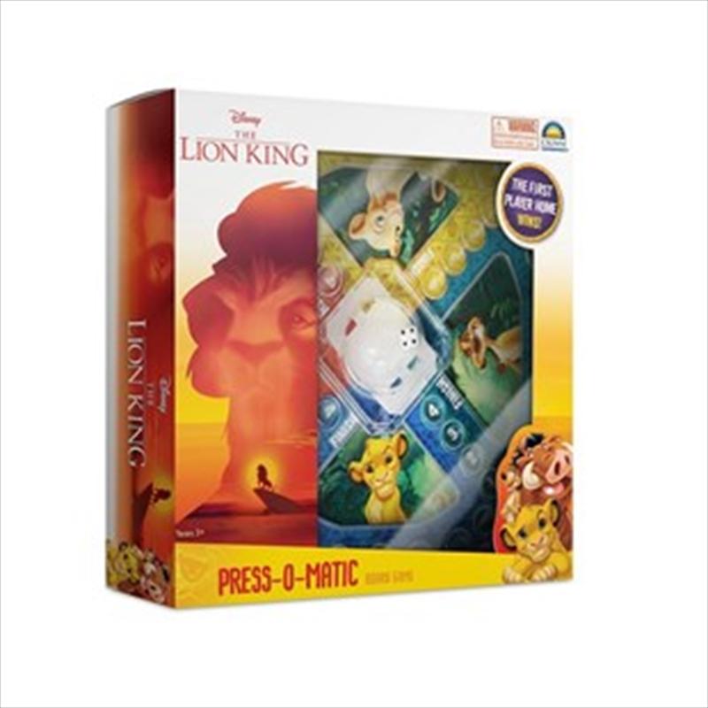Lion King Press O Matic | Merchandise