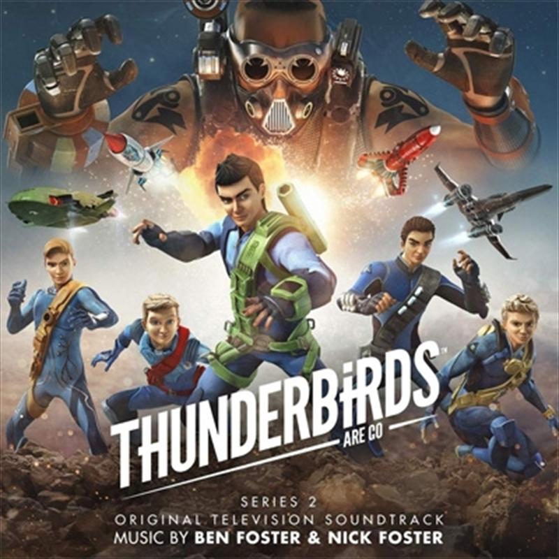 Thunderbirds Are Go Series 2 | CD