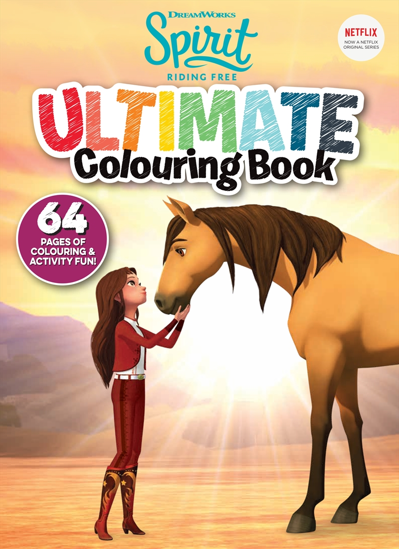 Spirit: Ultimate Colouring Book | Paperback Book