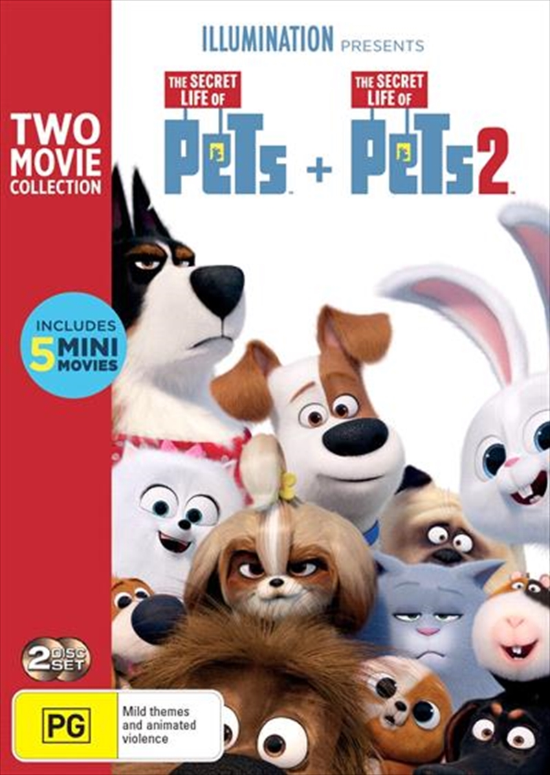 Secret Life Of Pets / The Secret Life Of Pets 2, The | DVD
