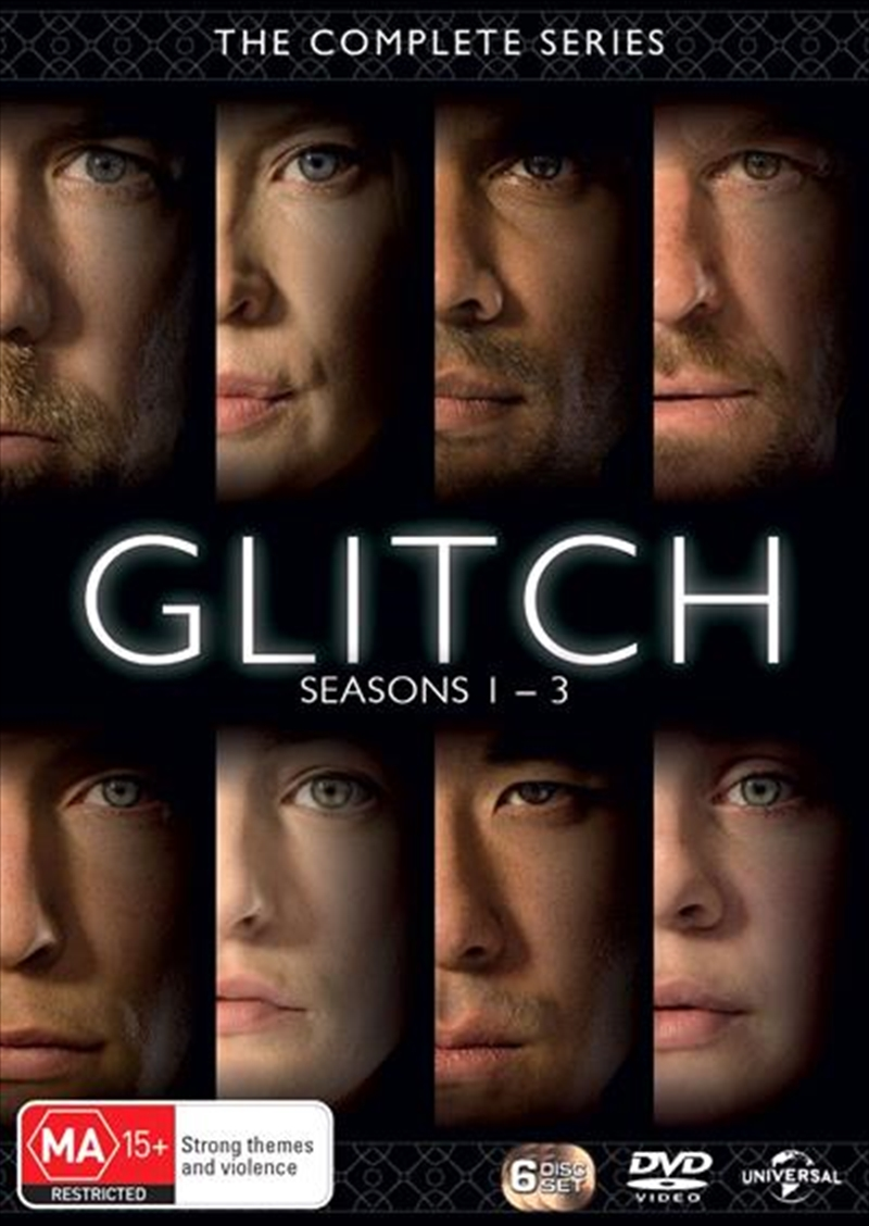 Glitch - Season 1-3 | Boxset | DVD